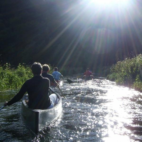 Kanuwandern auf dem Neckar. Ein spannendes Erlebnis