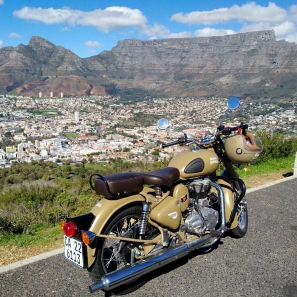 4 Tage mit der Royal Enfield durch Südafrika. Geführte Tour durchs südliche Afrika