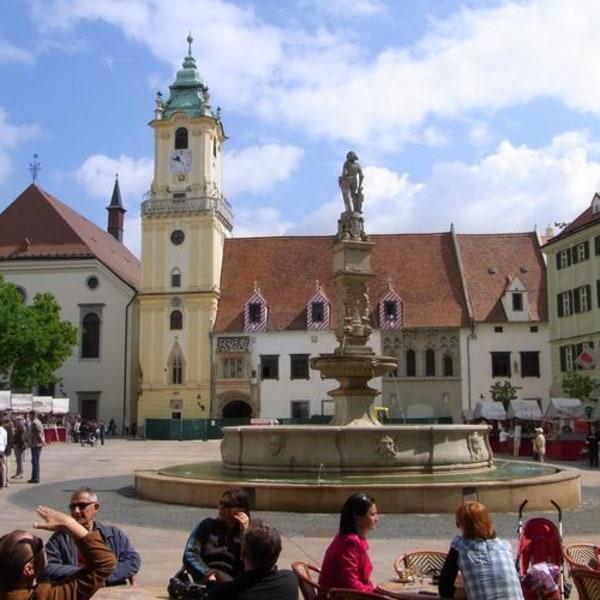 Zwei auf einen Streich – Bratislava und Wien