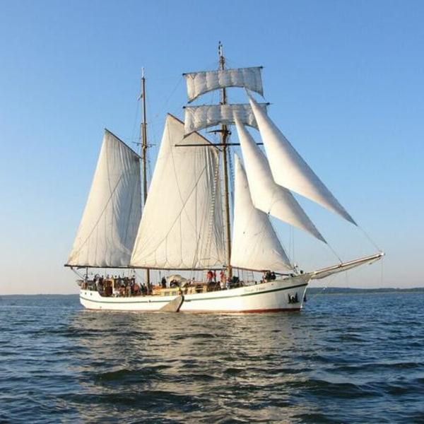 Auf dem Segelschiff der Sonne entgegen
