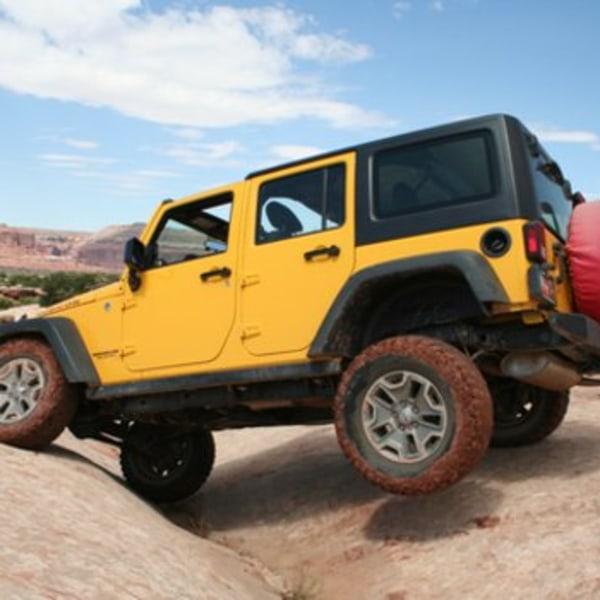 Moab - Rockcrawling in den roten Felsen von Utah