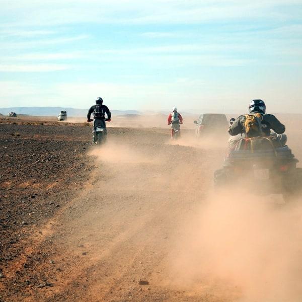 Mit dem eigenen Motorrad das echte Afrika entdecken.