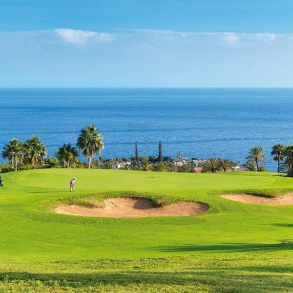 Golfurlaub mit Meerblick auf La Gomera
