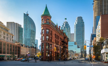 Gooderham or Flatiron Building in downtown Toronto _Fotolia_128628026_XS.jpg