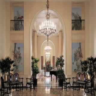 Lobby des Hotels
