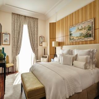 Schlafzimmer der Penthouse Suite