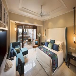 Schlafbereich der Presidential Suite