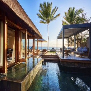 Privater Pool der Presidential Suite