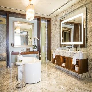 Badezimmer der Royal Suite