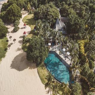 Luftaufnahme des Resorts