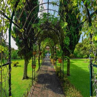 Gartenanlage im Detail