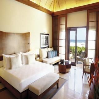 Schlaf und Wohnbereich der Villa
