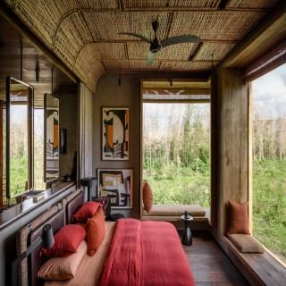 Doppelzimmer der Singita Kwitonda Lodge