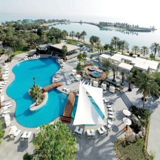 Resort und Poolanlage