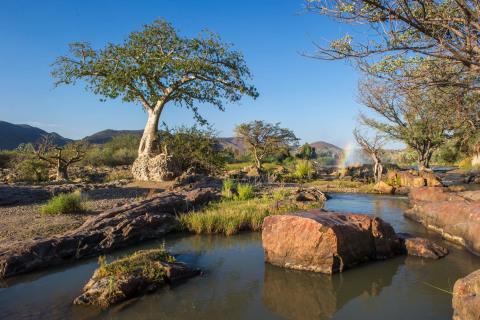 Epupa Falls in Namibia