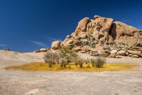 das  Erongogebirge in Namiba