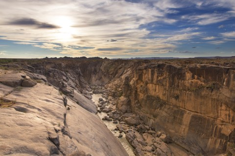 Augrabies Falls in Südafrika