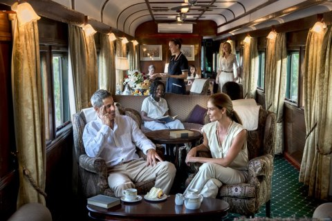 Rovos Rail Lounge