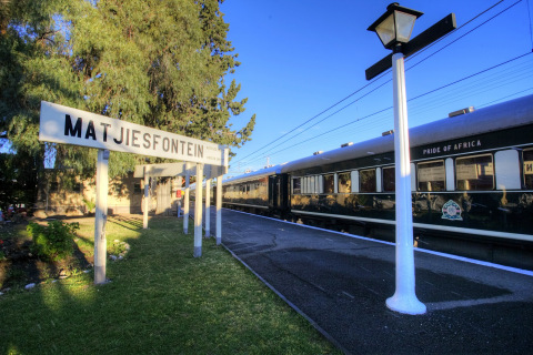Bahnhof Matjiesfontein