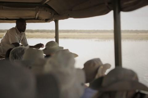 Fahrt durch die Wüste
