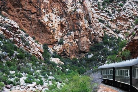 Fahrt mit dem Rovos Rail