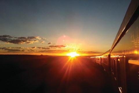 Rovos Trail Sonnenuntergang