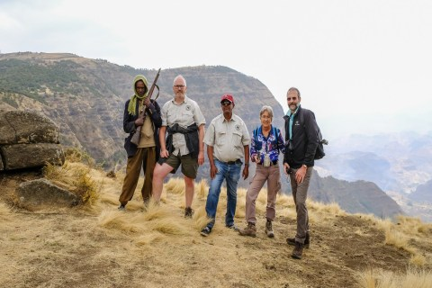 Wanderungen in den Simien Mountains
