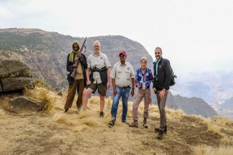 Wanderungen in den Simien Mountains