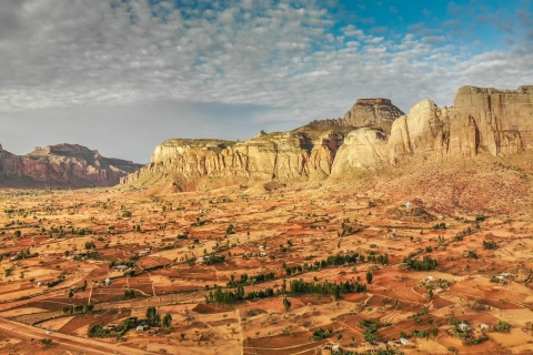 Gheralta Berge