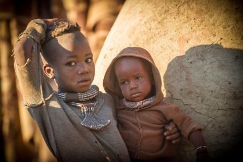 Himba bei Opuwo