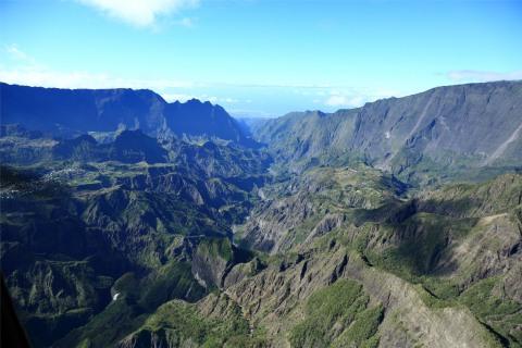 Berge bei Cilaos