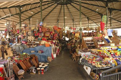 Markt in Saint Pierre