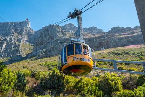 Kapstadt Seilbahn zum Tafelberg