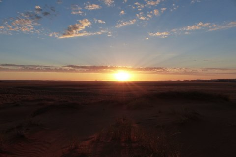 Sonnenuntergang Damaraland