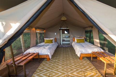Zululand Lodge Schlafraum