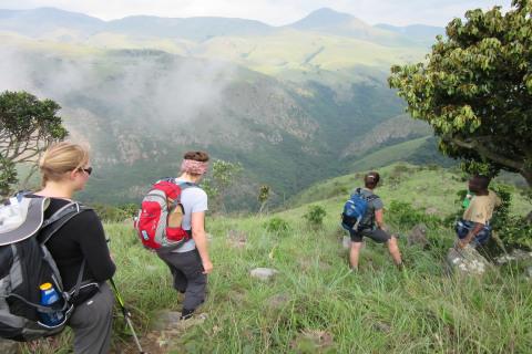 Swaziland Malolotja Wanderung