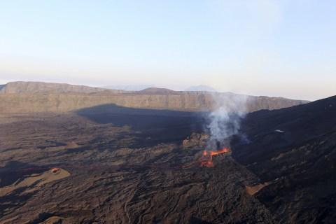 Vulkan auf La Reunion