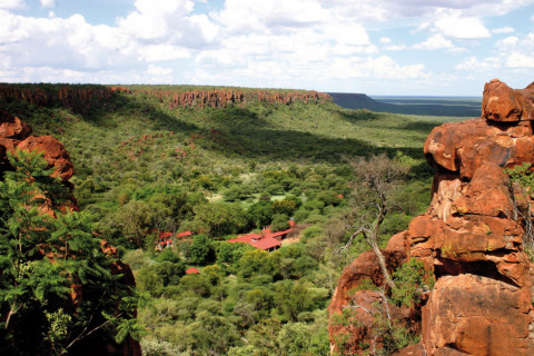 Aussicht am Waterberg