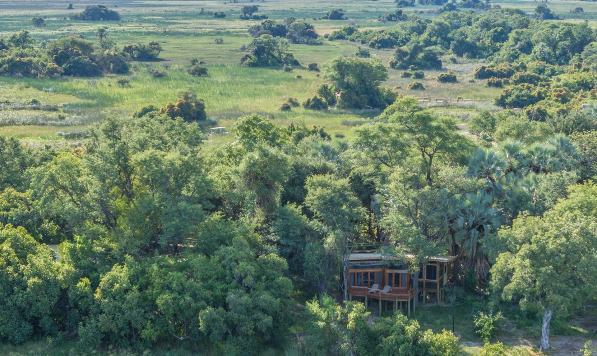 Lage des Camp Okavango