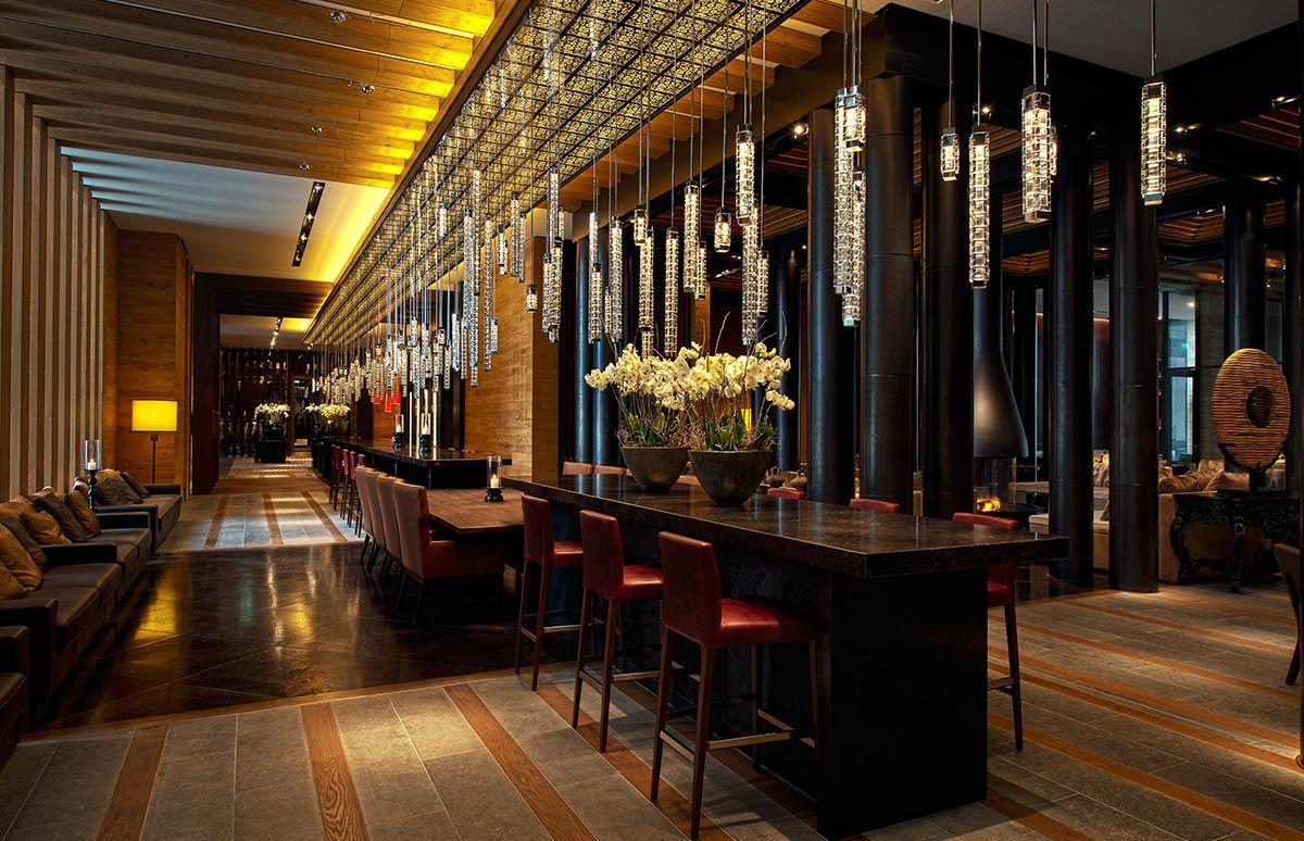 Bar des Chedi Andermatt