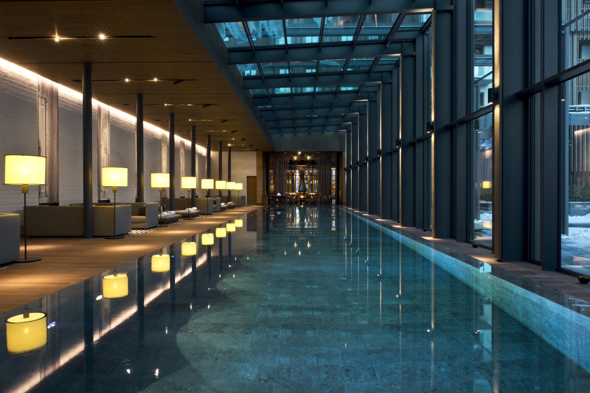 Pool des Chedi Andermatt