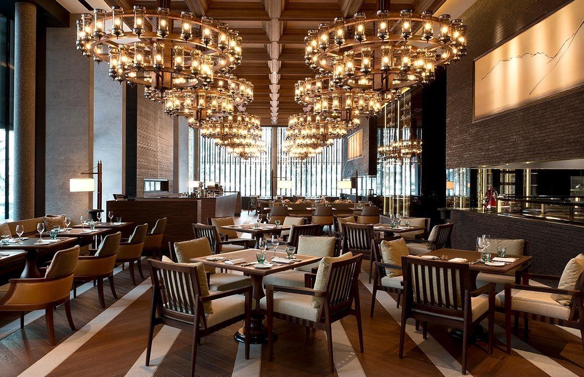 The Restaurant des Chedi Andermatt