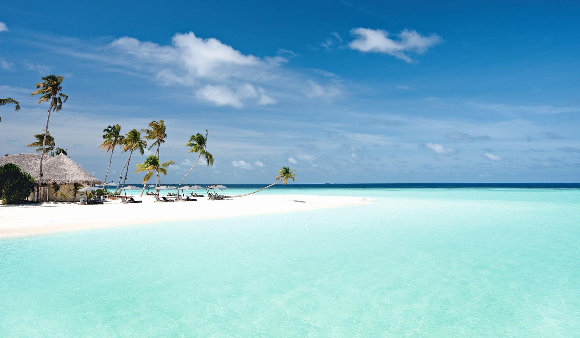 Strand und Meer des Constance Halaveli