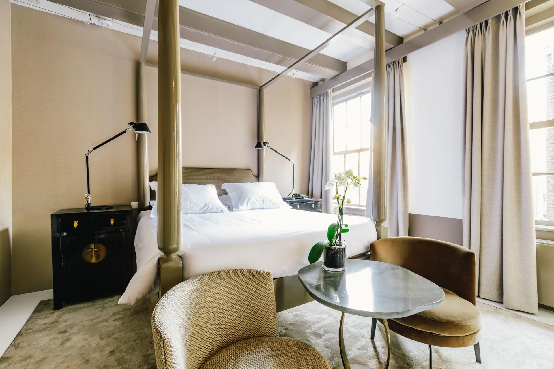 Schlafzimmer des Amber-Zimmers
