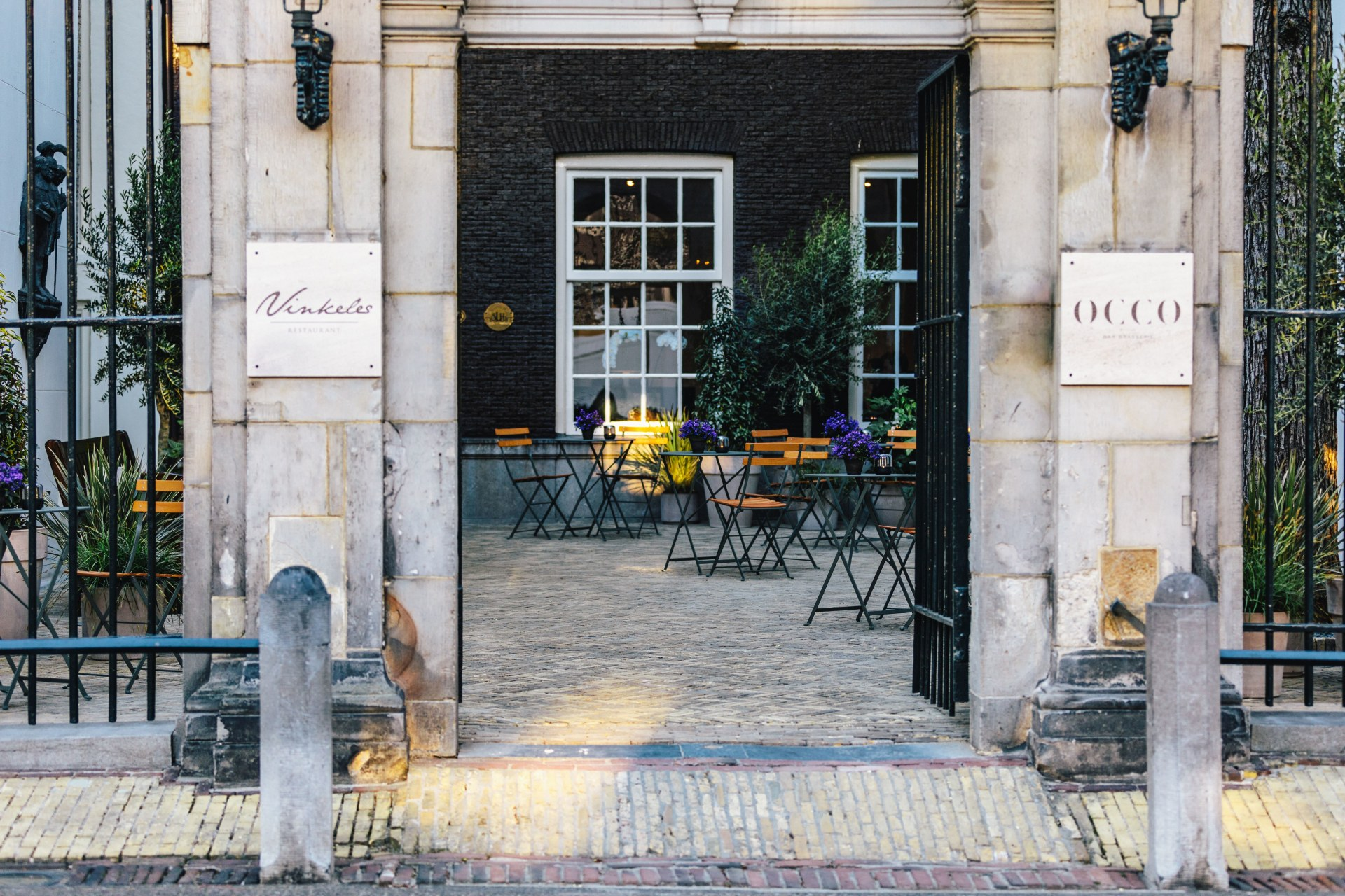 Eingang des Dylan Amsterdam