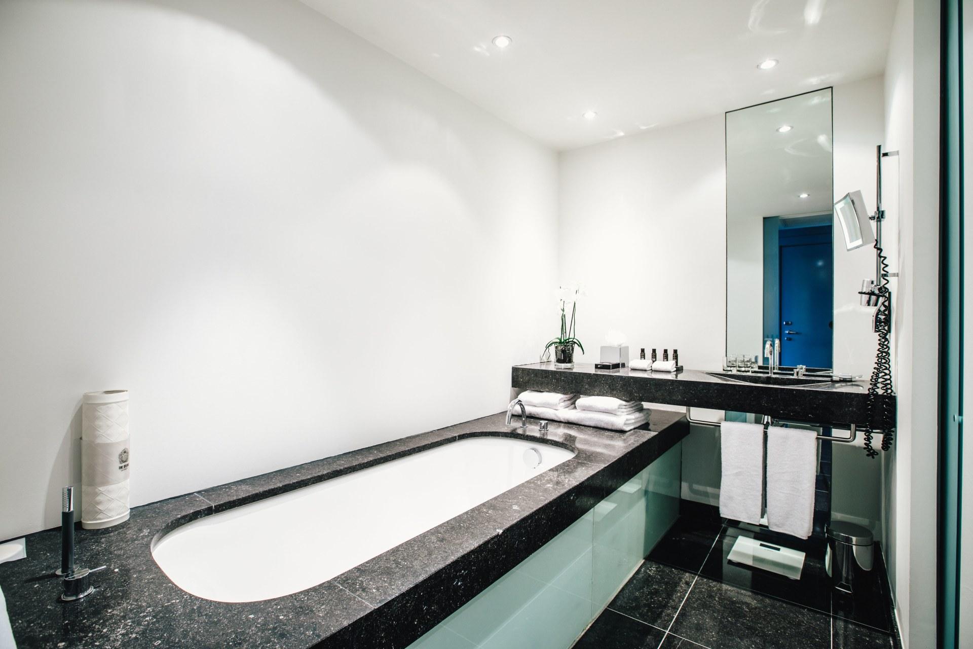 Badezimmer des Serendipity-Zimmers