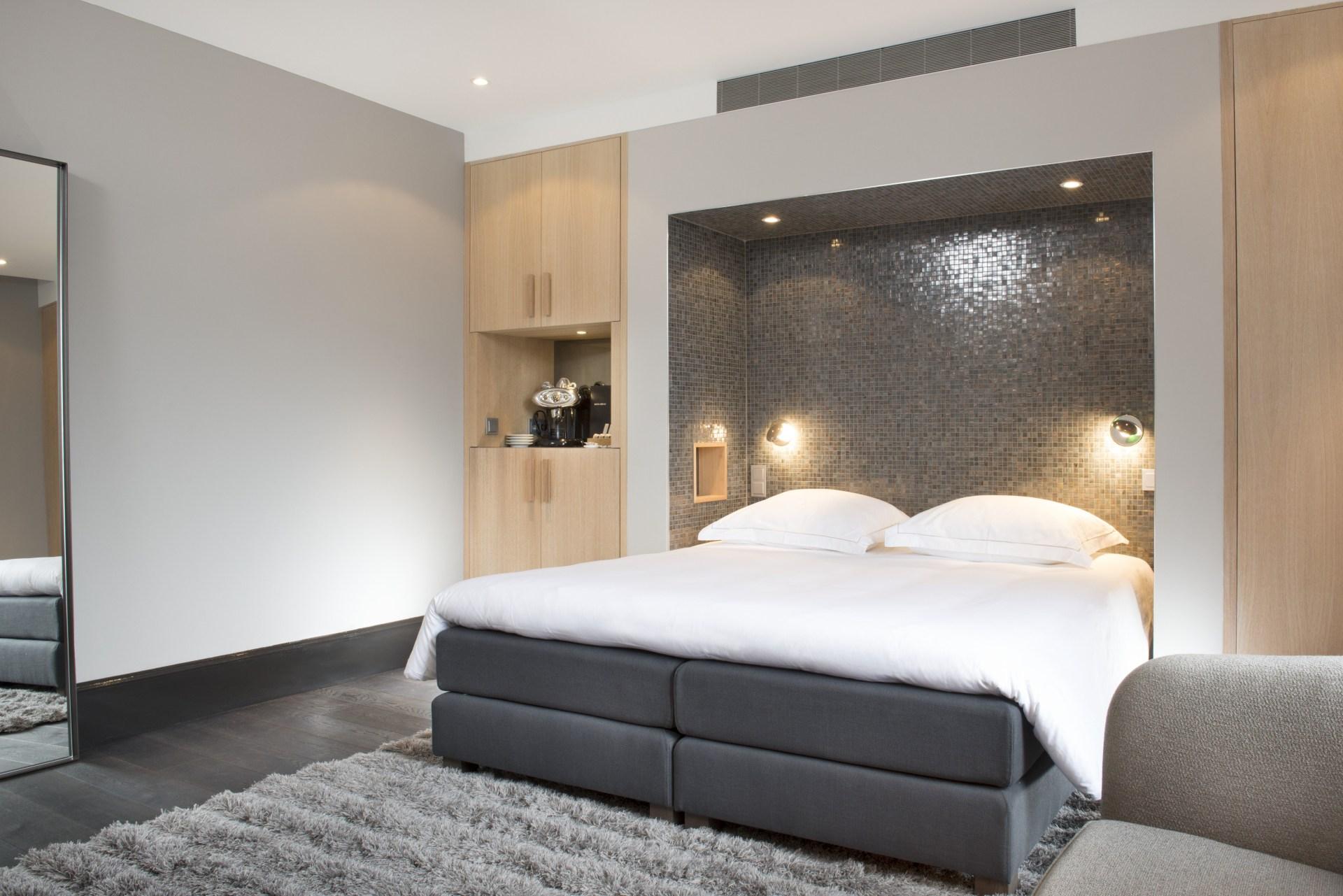 Wohn und Schlafbereich im Serendipity-Zimmer