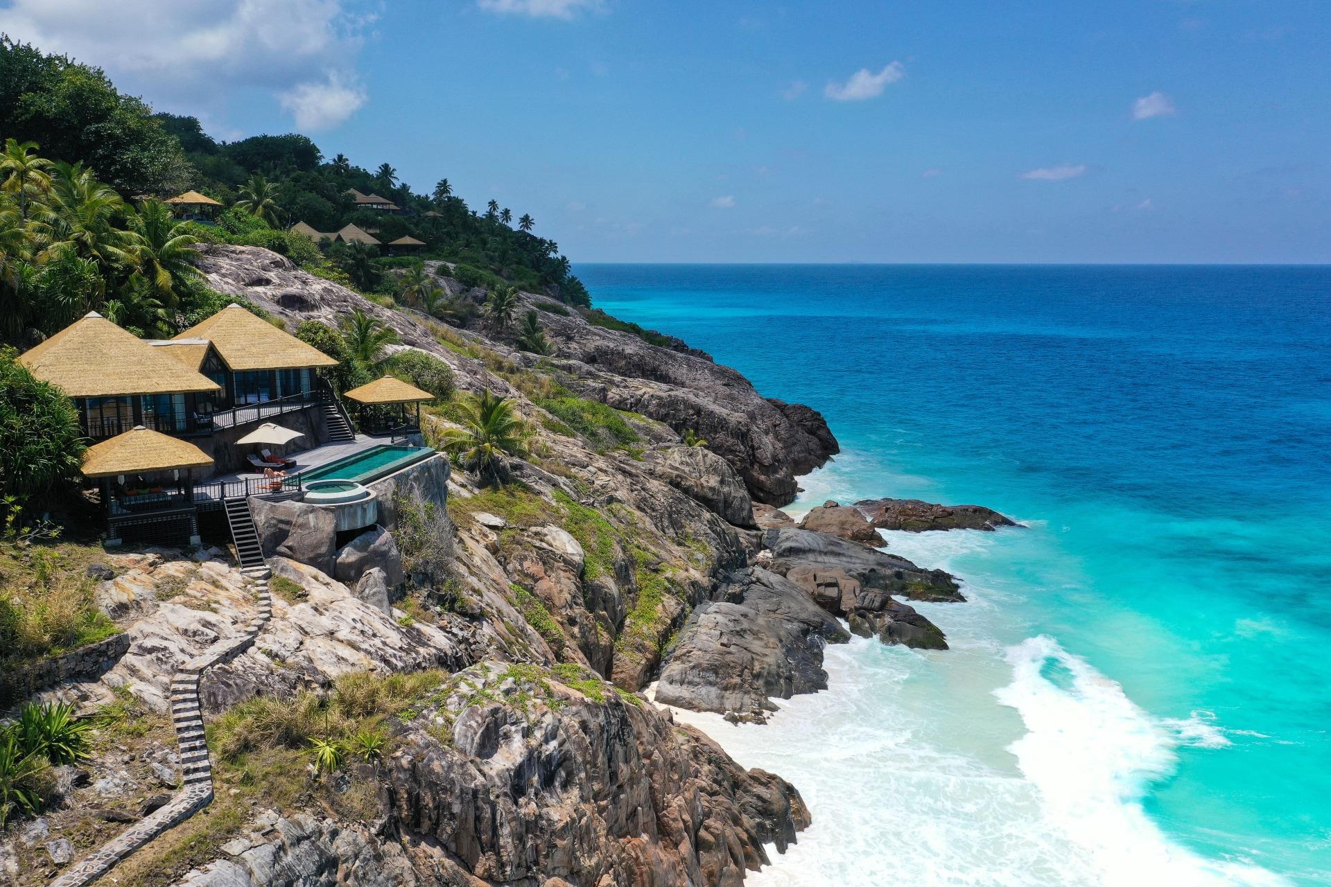 Aussenansicht der Private Pool Twin Villa