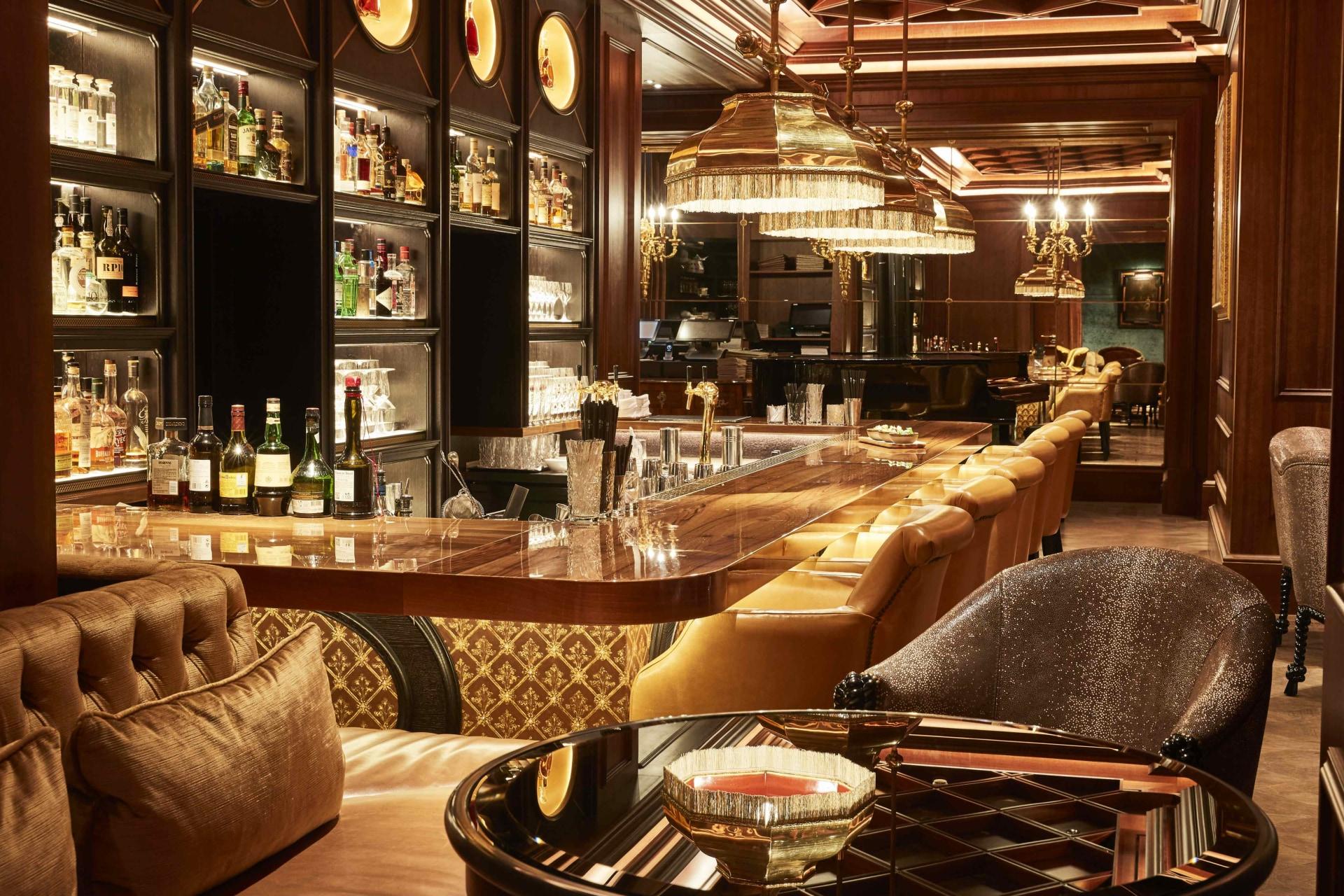 Innenbereich des Bar