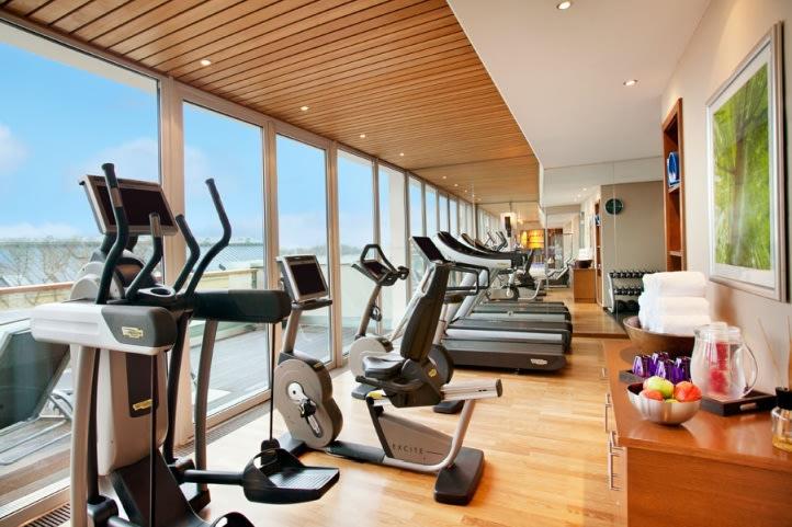 Spa und Fitnessbereich